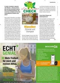 Titelbild der Ausgabe 11/2020 von PANORAMA: Klassiker: Zitronat und Orangeat. Zeitschriften als Abo oder epaper bei United Kiosk online kaufen.