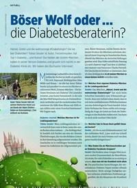 Titelbild der Ausgabe 11/2020 von Böser Wolf oder … die Diabetesberaterin?. Zeitschriften als Abo oder epaper bei United Kiosk online kaufen.