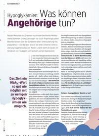 Titelbild der Ausgabe 11/2020 von SCHWERPUNKT: Hypoglykämien: Was können Angehörige tun?. Zeitschriften als Abo oder epaper bei United Kiosk online kaufen.