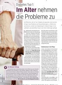Titelbild der Ausgabe 12/2020 von Diabetes Typ 1: Im Alter nehmen die Probleme zu. Zeitschriften als Abo oder epaper bei United Kiosk online kaufen.