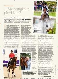 Titelbild der Ausgabe 60/2018 von Was wurde aus …: … Vielseitigkeitspferd Sam?. Zeitschriften als Abo oder epaper bei United Kiosk online kaufen.