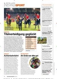 Titelbild der Ausgabe 90/2018 von NEWS SPORT. Zeitschriften als Abo oder epaper bei United Kiosk online kaufen.