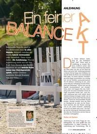 Titelbild der Ausgabe 100/2018 von ANLEHNUNG: Ein feiner BALANCE AKT. Zeitschriften als Abo oder epaper bei United Kiosk online kaufen.