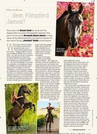 Titelbild der Ausgabe 120/2018 von Was wurde aus ……dem Filmpferd James?. Zeitschriften als Abo oder epaper bei United Kiosk online kaufen.