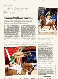 Titelbild der Ausgabe 10/2019 von Was wurde aus … …dem Voltigierpferd Picasso?. Zeitschriften als Abo oder epaper bei United Kiosk online kaufen.