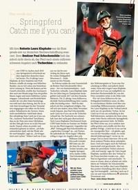 Titelbild der Ausgabe 20/2019 von Was wurde aus… Springpferd Catch me if you can?. Zeitschriften als Abo oder epaper bei United Kiosk online kaufen.