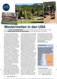 Titelbild der Ausgabe 30/2019 von GLOBETROTTER: Westernreiten in den USA. Zeitschriften als Abo oder epaper bei United Kiosk online kaufen.
