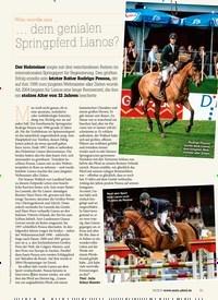 Titelbild der Ausgabe 40/2019 von Was wurde aus … … dem genialen Springpferd Lianos?. Zeitschriften als Abo oder epaper bei United Kiosk online kaufen.