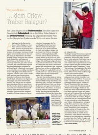 Titelbild der Ausgabe 50/2019 von Was wurde aus……dem Orlow- Traber Balagur?. Zeitschriften als Abo oder epaper bei United Kiosk online kaufen.