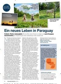 Titelbild der Ausgabe 50/2019 von GLOBETROTTER: Ein neues Leben in Paraguay. Zeitschriften als Abo oder epaper bei United Kiosk online kaufen.