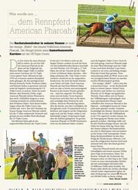 Titelbild der Ausgabe 90/2019 von Was wurde aus … … dem Rennpferd American Pharoah?. Zeitschriften als Abo oder epaper bei United Kiosk online kaufen.
