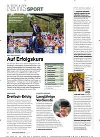 Titelbild der Ausgabe 110/2019 von NEWS SPORT. Zeitschriften als Abo oder epaper bei United Kiosk online kaufen.
