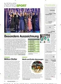 Titelbild der Ausgabe 10/2020 von NEWS SPORT. Zeitschriften als Abo oder epaper bei United Kiosk online kaufen.