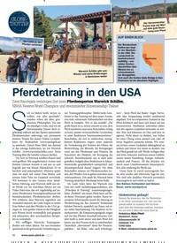 Titelbild der Ausgabe 10/2020 von GLOBETROTTER: Pferdetraining in den USA. Zeitschriften als Abo oder epaper bei United Kiosk online kaufen.
