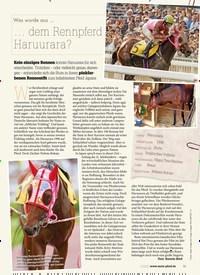 Titelbild der Ausgabe 20/2020 von Was wurde aus …: dem Rennpferd Haruurara?. Zeitschriften als Abo oder epaper bei United Kiosk online kaufen.