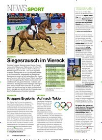Titelbild der Ausgabe 30/2020 von NEWS SPORT. Zeitschriften als Abo oder epaper bei United Kiosk online kaufen.