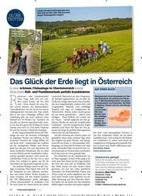 Titelbild der Ausgabe 30/2020 von GLOBETROTTER: Das Glück der Erde liegt in Österreich. Zeitschriften als Abo oder epaper bei United Kiosk online kaufen.