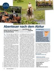 Titelbild der Ausgabe 40/2020 von GLOBETROTTER: Abenteuer nach dem Abitur. Zeitschriften als Abo oder epaper bei United Kiosk online kaufen.