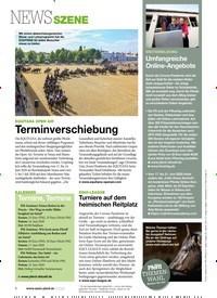 Titelbild der Ausgabe 60/2020 von NEWSSZENE. Zeitschriften als Abo oder epaper bei United Kiosk online kaufen.