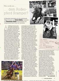 Titelbild der Ausgabe 60/2020 von Was wurde aus …: … dem Rodeopferd Scamper?. Zeitschriften als Abo oder epaper bei United Kiosk online kaufen.