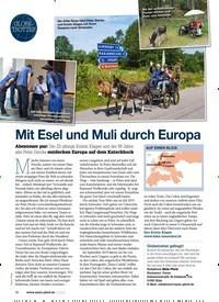 Titelbild der Ausgabe 60/2020 von Mit Esel und Muli durch Europa. Zeitschriften als Abo oder epaper bei United Kiosk online kaufen.