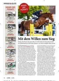 Titelbild der Ausgabe 60/2018 von Mit dem Willen zum Sieg. Zeitschriften als Abo oder epaper bei United Kiosk online kaufen.