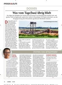 Titelbild der Ausgabe 70/2018 von DOSSIER: Was vom Tage(bau) übrig blieb. Zeitschriften als Abo oder epaper bei United Kiosk online kaufen.