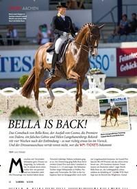 Titelbild der Ausgabe 80/2018 von AACHEN: BELLA IS BACK!. Zeitschriften als Abo oder epaper bei United Kiosk online kaufen.