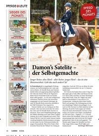 Titelbild der Ausgabe 90/2018 von PFERD DES MONATS: Damon's Satelite – der Selbstgemachte. Zeitschriften als Abo oder epaper bei United Kiosk online kaufen.