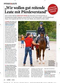"""Titelbild der Ausgabe 90/2018 von PFERDE & LEUTE: """"Wir wollen gut reitende Leute mit Pferdeverstand"""". Zeitschriften als Abo oder epaper bei United Kiosk online kaufen."""