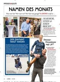 Titelbild der Ausgabe 100/2018 von PFERDE & LEUTE: NAMEN DES MONATS. Zeitschriften als Abo oder epaper bei United Kiosk online kaufen.