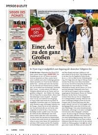 Titelbild der Ausgabe 110/2018 von PFERD DES MONATS: Einer, der zu den ganz Großen zählt. Zeitschriften als Abo oder epaper bei United Kiosk online kaufen.