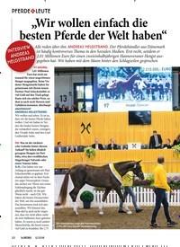 """Titelbild der Ausgabe 120/2018 von PFERDE & LEUTE: """"Wir wollen einfach die besten Pferde der Welt haben"""". Zeitschriften als Abo oder epaper bei United Kiosk online kaufen."""
