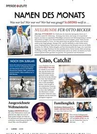 Titelbild der Ausgabe 10/2019 von PFERDE & LEUTE: NAMEN DES MONATS. Zeitschriften als Abo oder epaper bei United Kiosk online kaufen.