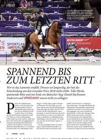 Titelbild der Ausgabe 20/2019 von SPORT: SPANNEND BIS ZUM LETZTEN RITT. Zeitschriften als Abo oder epaper bei United Kiosk online kaufen.