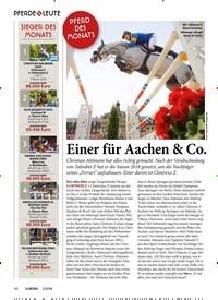 Titelbild der Ausgabe 30/2019 von PFERDE & LEUTE: SIEGER DES MONATS. Zeitschriften als Abo oder epaper bei United Kiosk online kaufen.