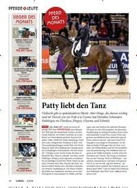 Titelbild der Ausgabe 40/2019 von Patty liebt den Tanz. Zeitschriften als Abo oder epaper bei United Kiosk online kaufen.