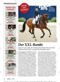 Titelbild der Ausgabe 60/2019 von PFERDE & LEUTE: Der XXL-Bambi. Zeitschriften als Abo oder epaper bei United Kiosk online kaufen.