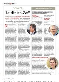 Titelbild der Ausgabe 60/2019 von PFERDE & LEUTE: DOSSIER: Leitlinien-Zoff. Zeitschriften als Abo oder epaper bei United Kiosk online kaufen.