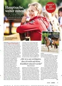 Titelbild der Ausgabe 80/2019 von Hauptsache, weiter reiten!. Zeitschriften als Abo oder epaper bei United Kiosk online kaufen.