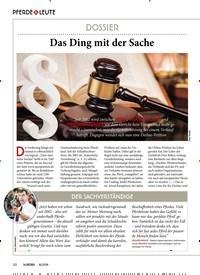 Titelbild der Ausgabe 80/2019 von DOSSIER: Das Ding mit der Sache. Zeitschriften als Abo oder epaper bei United Kiosk online kaufen.