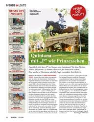 """Titelbild der Ausgabe 100/2019 von PFERDE LEUTE: Quintana – mit """"P"""" wie Prinzesschen. Zeitschriften als Abo oder epaper bei United Kiosk online kaufen."""
