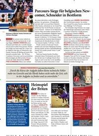 Titelbild der Ausgabe 20/2020 von Parcours-Siege für belgischen Newcomer, Schneider in Bestform. Zeitschriften als Abo oder epaper bei United Kiosk online kaufen.