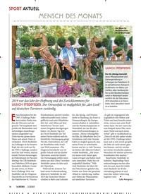 Titelbild der Ausgabe 20/2020 von SPORT AKTUELL: MENSCH DES MONATS. Zeitschriften als Abo oder epaper bei United Kiosk online kaufen.