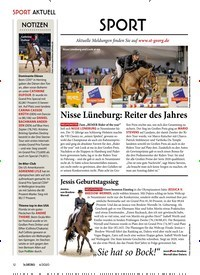 Titelbild der Ausgabe 40/2020 von Nisse Lüneburg: Reiter des Jahres. Zeitschriften als Abo oder epaper bei United Kiosk online kaufen.