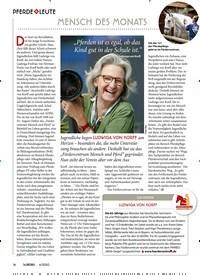 Titelbild der Ausgabe 40/2020 von PFERDE LEUTE: MENSCH DES MONATS. Zeitschriften als Abo oder epaper bei United Kiosk online kaufen.