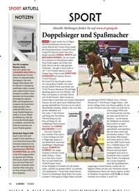 Titelbild der Ausgabe 70/2020 von Doppelsieger und Spaßmacher. Zeitschriften als Abo oder epaper bei United Kiosk online kaufen.