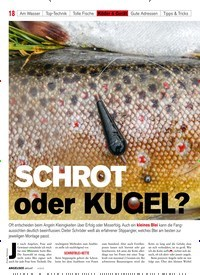 Titelbild der Ausgabe 40/2018 von SCHROT oder KUGEL?. Zeitschriften als Abo oder epaper bei United Kiosk online kaufen.