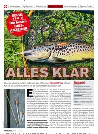 Titelbild der Ausgabe 50/2018 von SERIE: TEIL V Die besten BISSANZEIGER: ALLES KLAR. Zeitschriften als Abo oder epaper bei United Kiosk online kaufen.