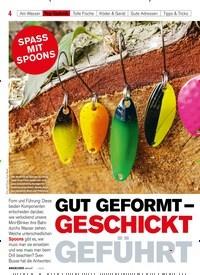 Titelbild der Ausgabe 10/2019 von SPASS MIT SPOONS: GUT GEFORMT – GESCHICKT GEFÜHRT. Zeitschriften als Abo oder epaper bei United Kiosk online kaufen.